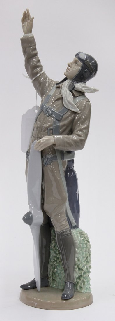 "Lladro porcelain figure, ""The Aviator,"" #5891,"