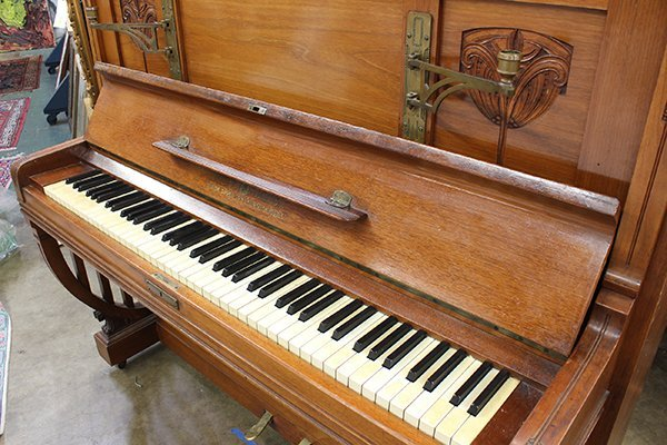 Ritter Halle upright piano, - 2