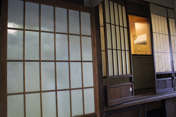 Associated group of Japanese doors and windows