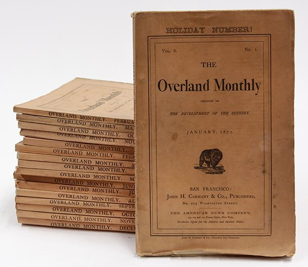 (lot of 17) Overland Monthly San Francisco