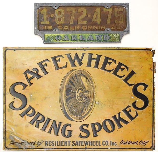 Early Oakland signage