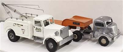 Pressed steel Smith Miller toy trucks