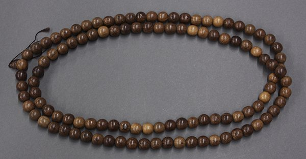Chinese Necklace with Wood Beads