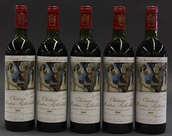 1973 Baron Philippe de Rothschild Chateau Mouton