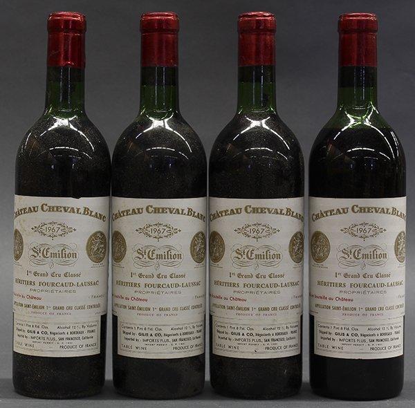 1967 Chateau Cheval Blanc, Saint-Emilion Grand Cru,