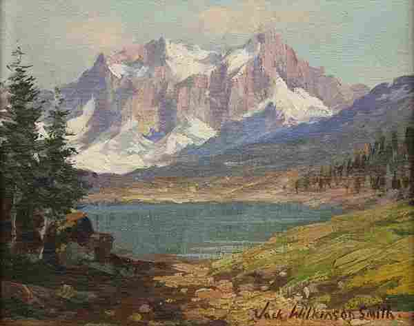 Painting, Jack Wilkinson Smith, View of the Sierras