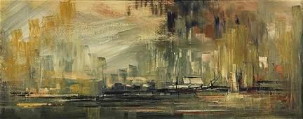 Painting, Leon Shulman Gaspard