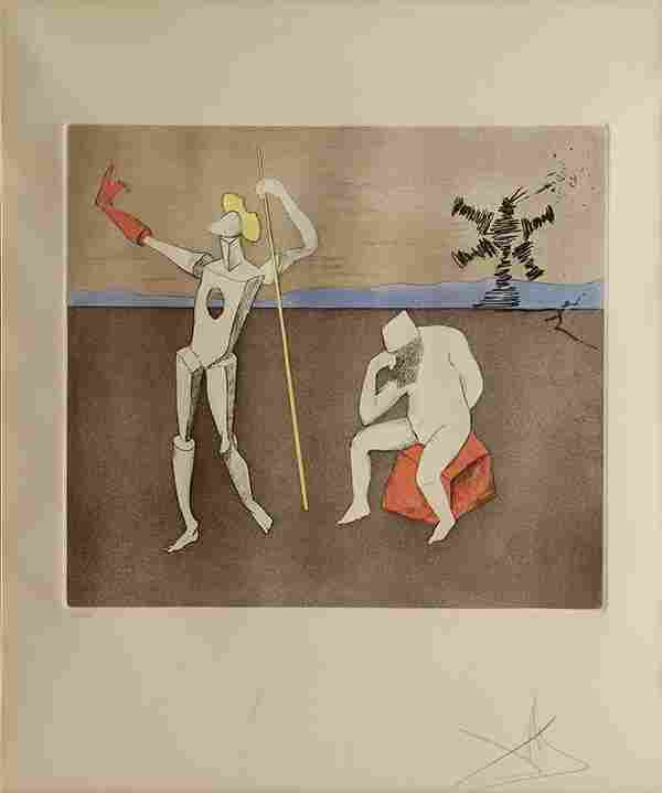 Print, Salvador Dali, The Power of Thought