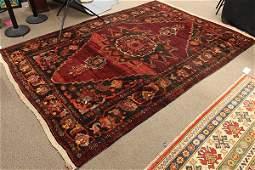 Semi antique Persian Afshar carpet