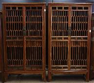 Chinese Huali and Mixed Wood Cabinets