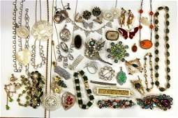 Collection miscellaneous jewelry items, Eisenberg Ice,