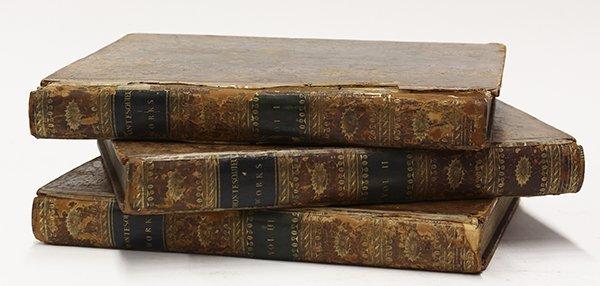 "(lot of 3) Montesquieu, Charles De Secondat, ""The Works"