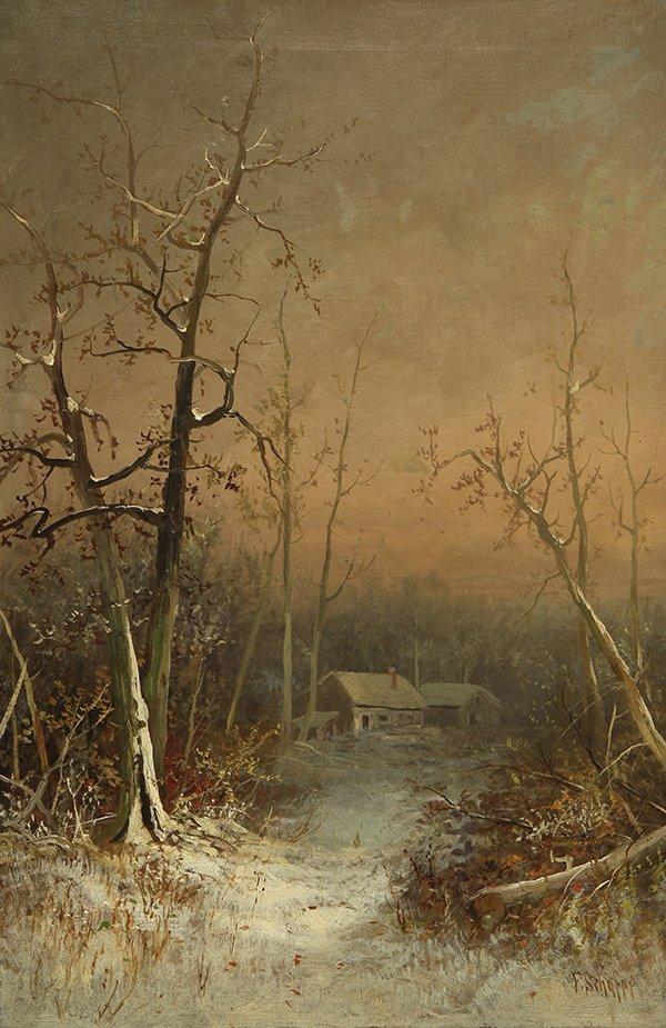 Painting by Frederick Ferdinand Schafer