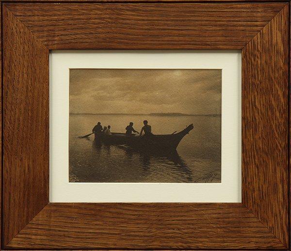 Photograph, Edward Curtis, Homeward Bound - 2