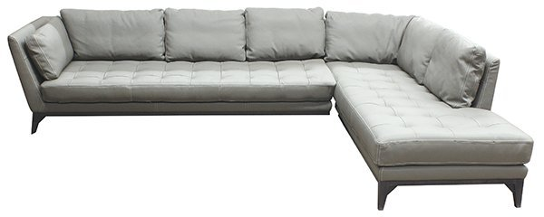 French Roche Bobois leather modular sofa - 2