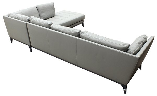 French Roche Bobois leather modular sofa - 5