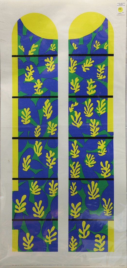 Posters, The Tree of Life by Henri Matisse - 2