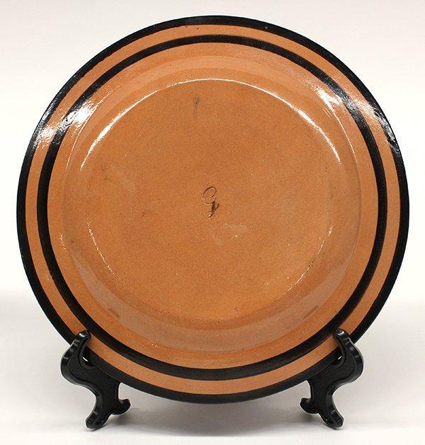 Naples Italian Giustiniani red pottery plates - 3