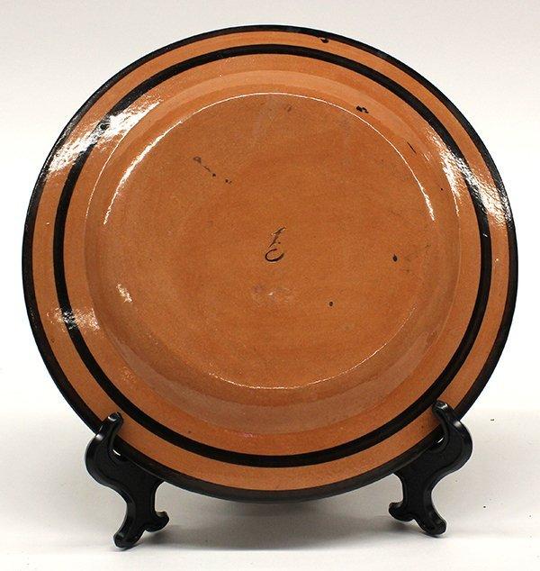 Naples Italian Giustiniani red pottery plates - 6