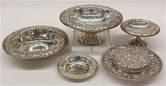 American SKirk  Son Repousse sterling silver