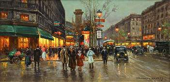 Painting by Edouard Leon Cortes