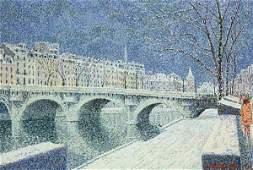 Painting by Serge Mendjisky
