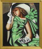 Painting Manner of Tamara De Lempicka
