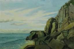 Painting, Coastal Scene