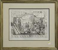 Prints, After William Hogarth, Analysis of Beauty