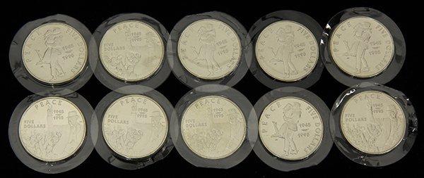 Republic of Marshall Islands .999 silver commemorative