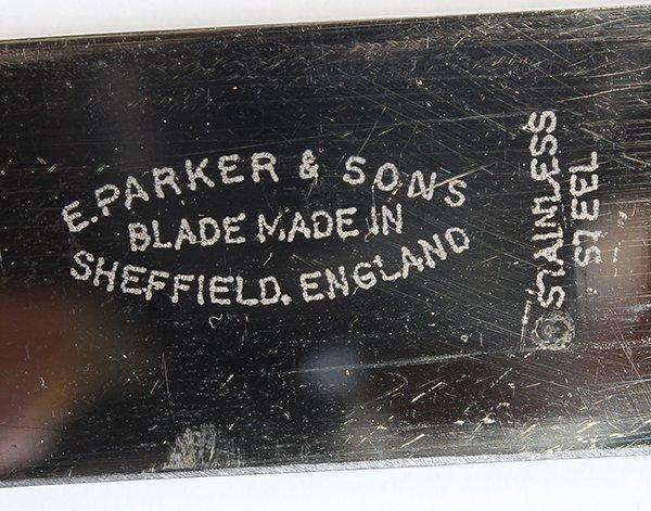 Sheffield, England E. Parker & sons cutlery set - 3