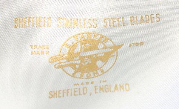 Sheffield, England E. Parker & sons cutlery set - 4