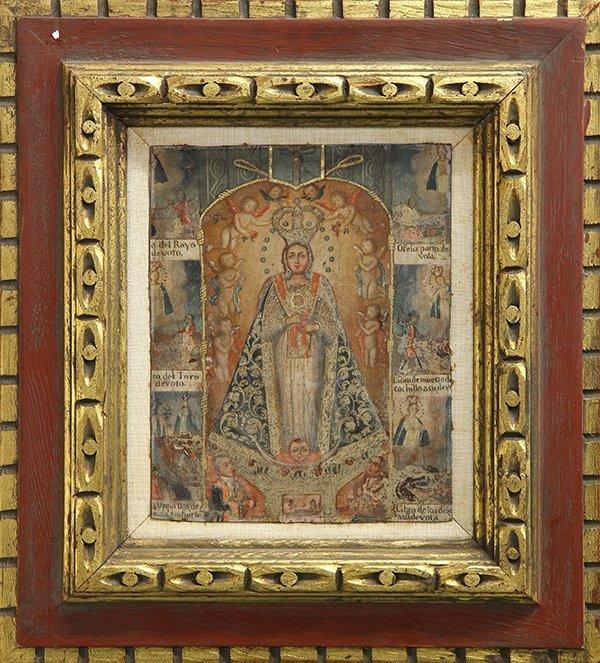 19th Century Spanish Colonial Painting