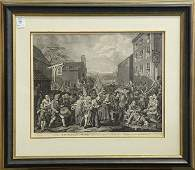 Print by William Hogarth