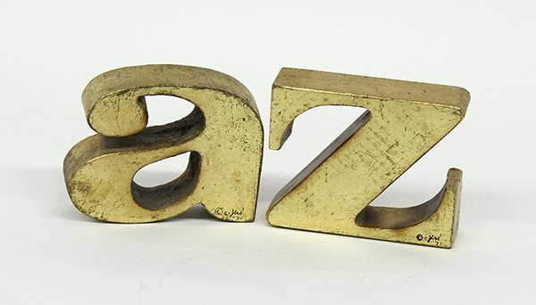 Curtis Jere A-Z bookends