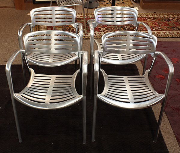 "Jorge Pensi for Amat for Knoll ""Toledo"" chairs"
