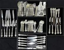 """American Gorham sterling silver """"English Gadroon"""""""