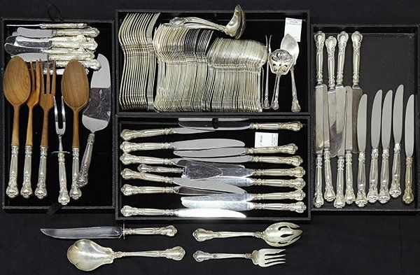 "American Gorham ""Chantilly"" sterling silver flatware"