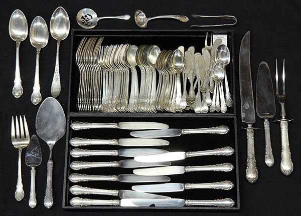 """American Wallace sterling silver """"Modern Victorian"""""""