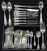 American Wallace Grande Baroque sterling silver