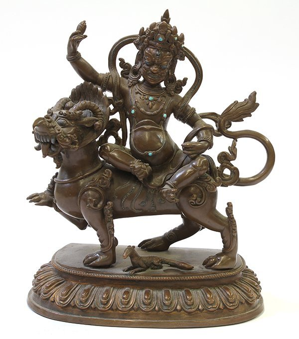 Himalayan Buddhist Figure