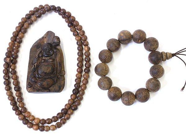 Chinese Wood Bead Bracelets/Budai
