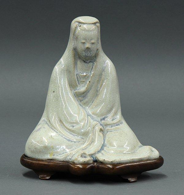 Chinese Crackle Glaze Figure