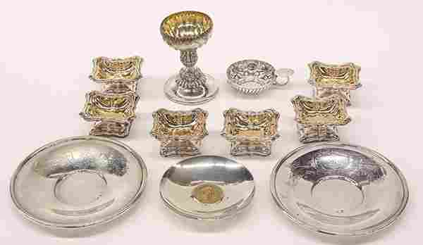 Austrian, German, French silver table articles, 11.87