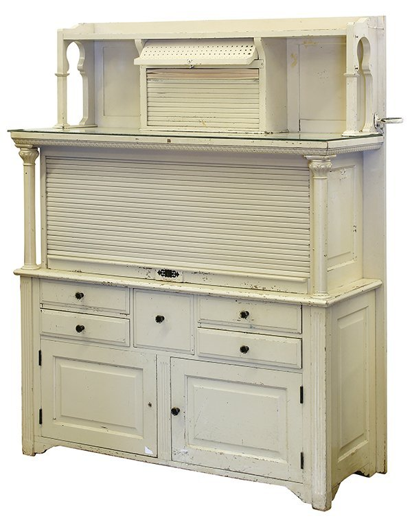 American Neo-Classical style cream painted dental