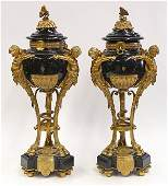 Pair of French urns in the Neoclassical taste
