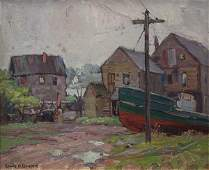 Painting Emile Albert Gruppe