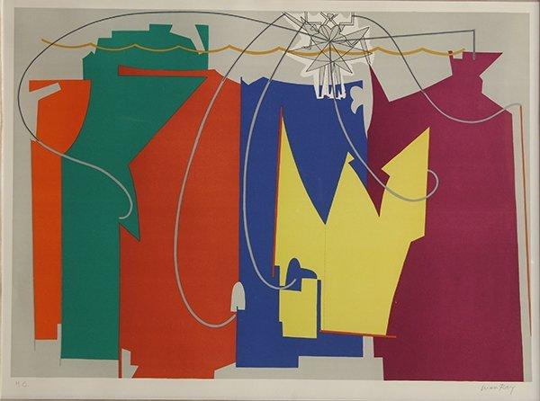 Print, Man Ray, Rope Dancer Accompanies Herself with
