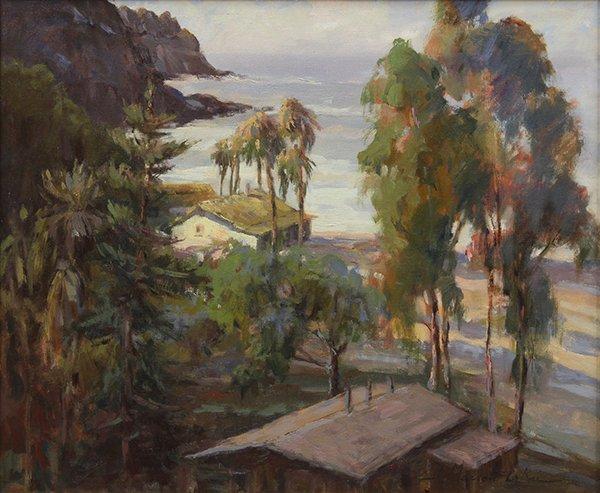 Painting by Joan Marron-La Rue