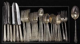 American sterling silver flatware
